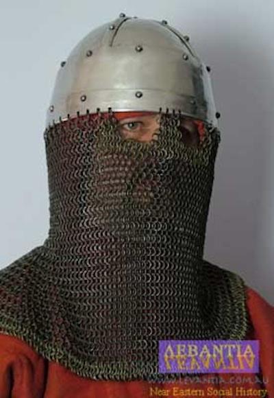 Levantia: middle-Byzantine helmets